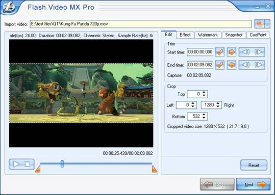 the best flash encoder for you to export perfect flash movie