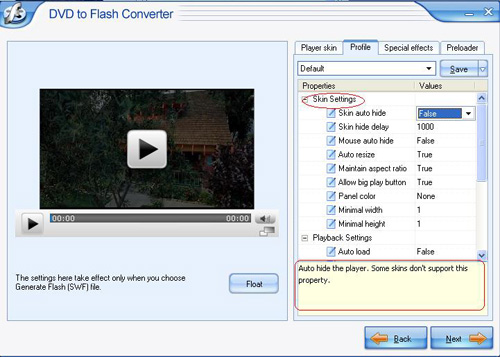 how to allow flash on your server