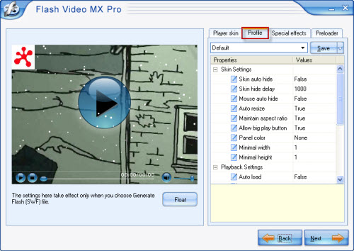 How to embed video and flv player into the website How to start flash player
