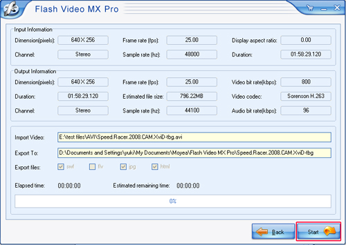 Can i upload a video with my flash player onto my blog How to start flash player
