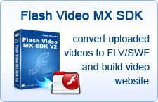 convert uploaded videos to FLV/SWF and build video website