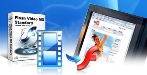 Convert video to Flash 8  alpha video